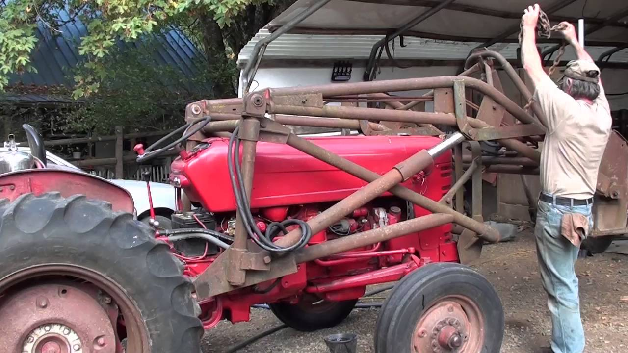 Loader Install 1956 IH Utility 300 on