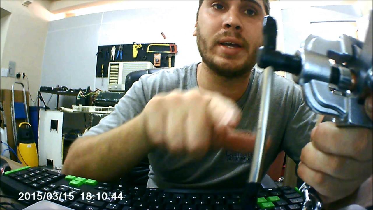 Comparação flangeador excentrico X flangeador normal - YouTube 474123439ec