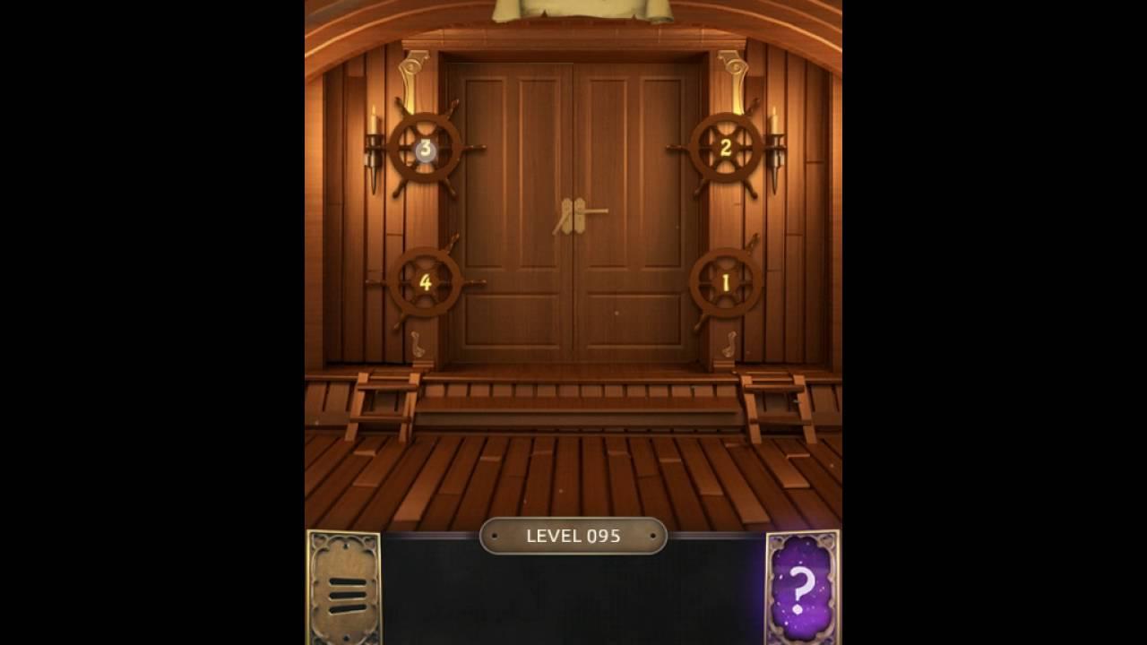 100 doors challenge level 95 youtube for Door 95 100 doors 3