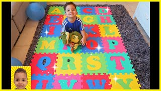 ABC Song Alphabet phonics for children with Ethan | Nursery Rhymes