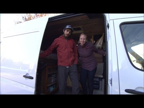 Why This Millennial Couple Chooses To Live In a Van Over Traditional Home