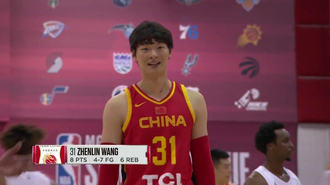 2019.7.9 NBA夏季聯賽 中國隊VS黃蜂隊 第四節 - YouTube