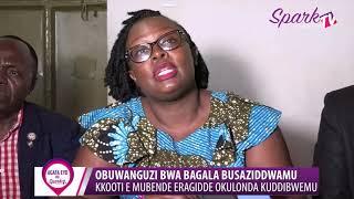 OBUWANGUZI BWA BAAGALA BUSAZIDDWAMU :Kkooti e Mubende eragidde okulonda kuddibwemu