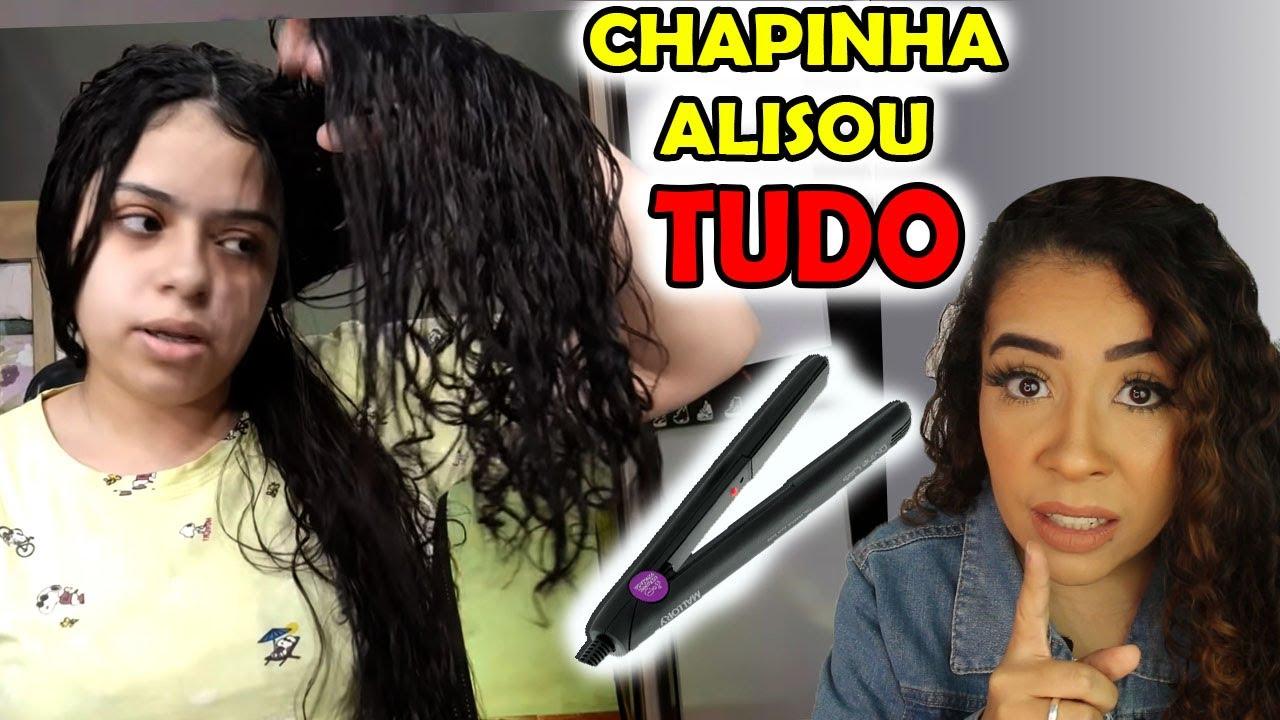 CHAPINHA ALISOU O CABELO CACHEADO DA YOUTUBER @Dáry Vitória
