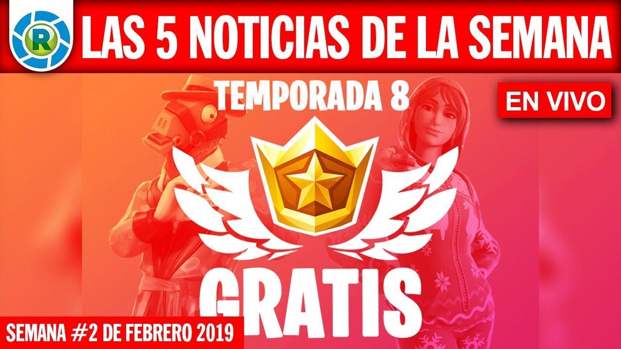 Ver Temporada 8 de Fortnite ¡GRATIS!, Película de Breaking Bad, Xiaomi Mi 9 y más!… en Español