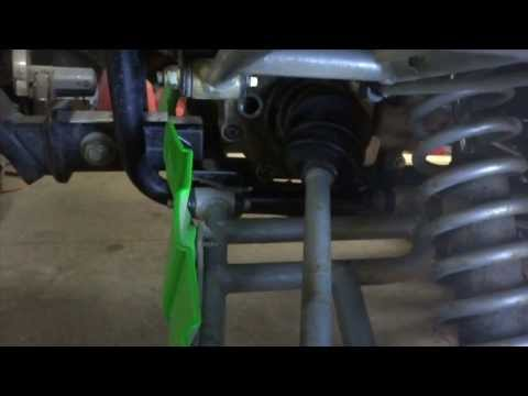 DIY ATV Differential Seal Replacement - YouTube