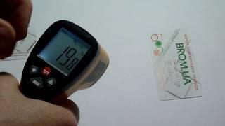 видео Среднетемпературный пирометр | Купить с доставкой - Киев, Украина