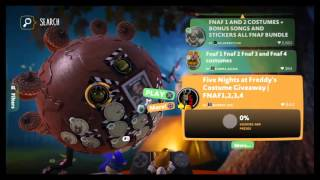 Little big planet 3 roleplay ep.2: Nightmare pizzeria