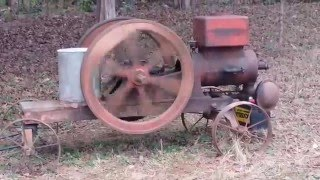 Galloway 5 Hp Hit Miss Engine  First Start In 50 Years  Running