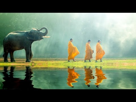 Meditation Music: Buddhist Thai Monks Chanting Mantra for Healing and Positive Energy