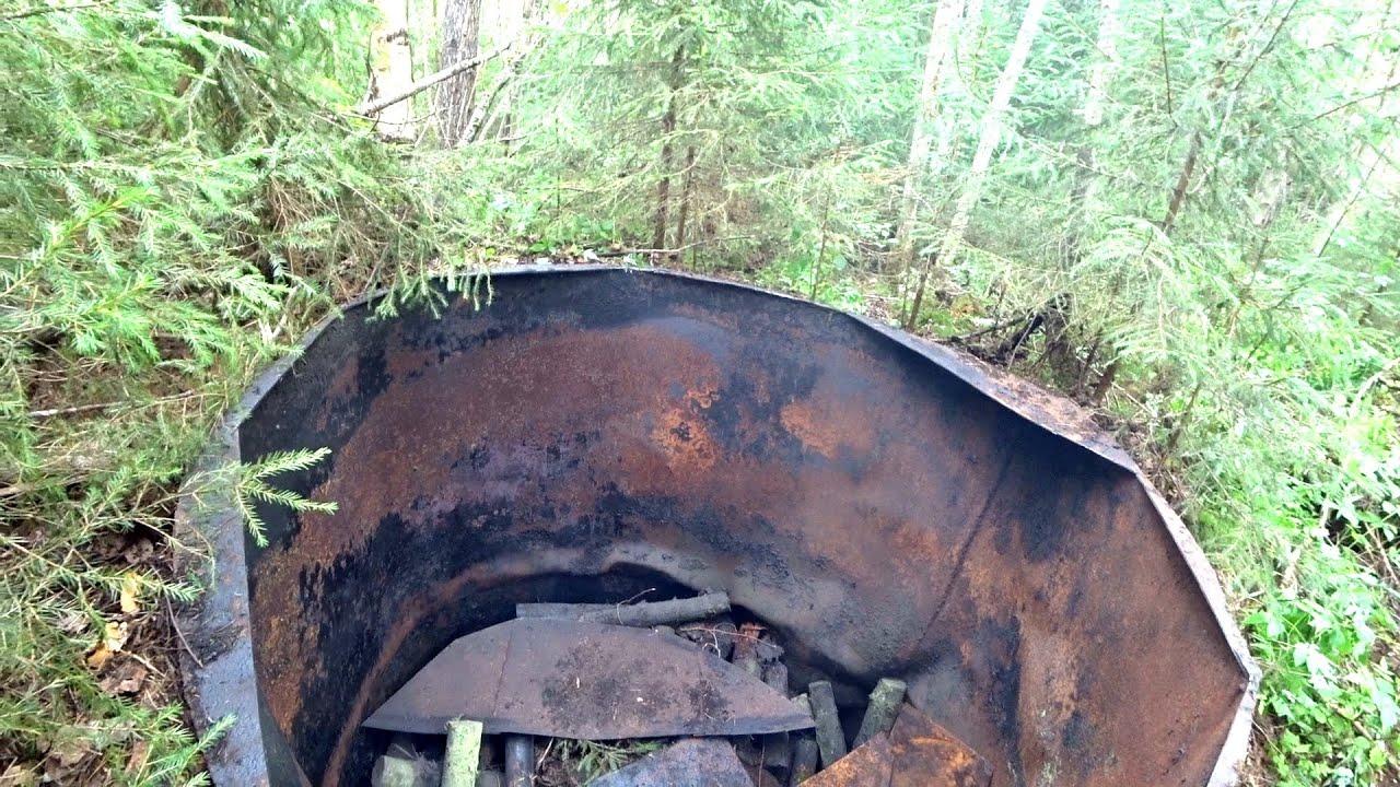 Пилю находку рыбака. Старинное производство древесного угля.
