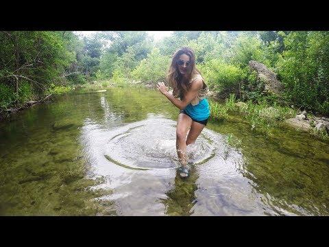 PANIC MODE!! Wife Prank | Creek Fishing with Ultra Light Tackle