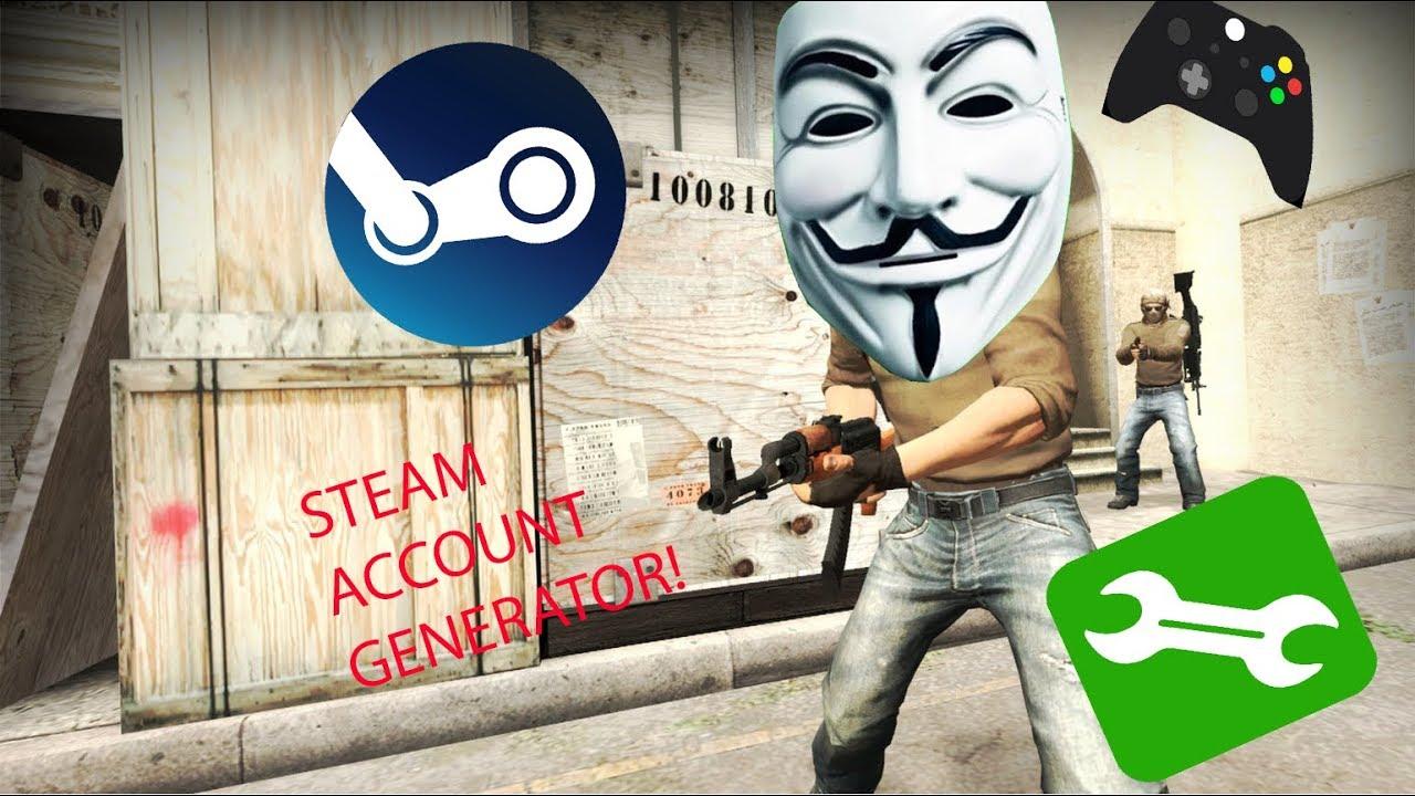 Steam account generator download