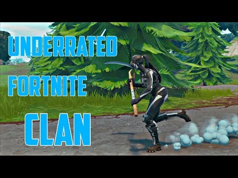 MOST UNDERRATED FORTNITE CLAN | Xcel