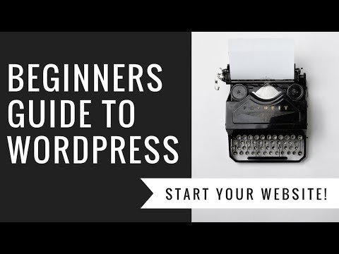 Beginners WordPress Tutorial! Learn how to build a website with WordPress | How to WordPress #1