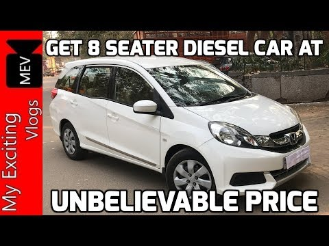 SECOND HAND MOBILIO DIESEL FOR SALE IN DELHI ( 8 SEATER CAR AT CHEAPEST PRICE) KAROL BAGH, NEW DELHI