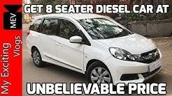 MOBILIO DIESEL FOR SALE IN DELHI ( 8 SEATER CAR AT CHEAPEST  PRICE) DELHI