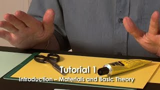 Pop-Up Tutorial 1 - Introduction – Materials and Basic Theory
