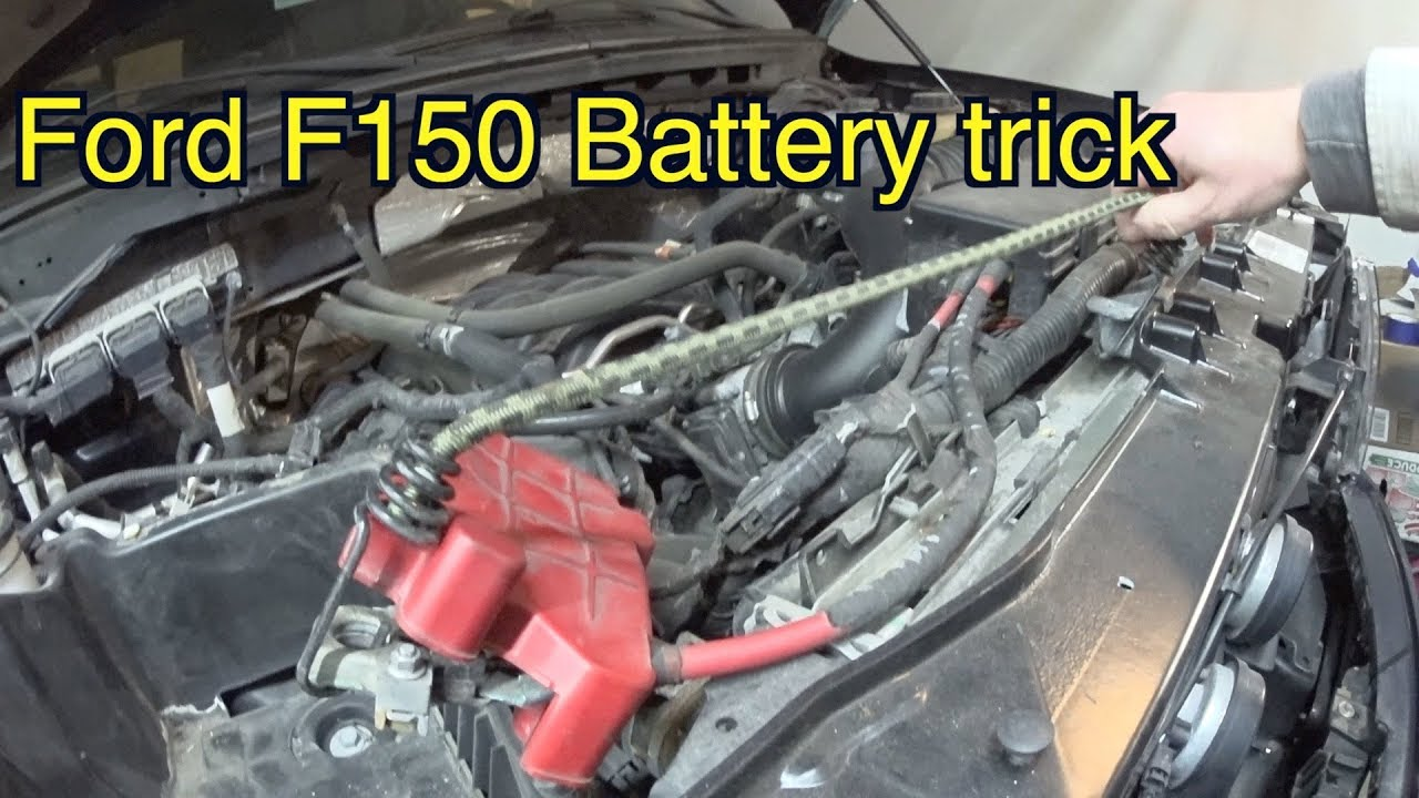 Ford F150 Battery Trick How To Replace F150 Battery