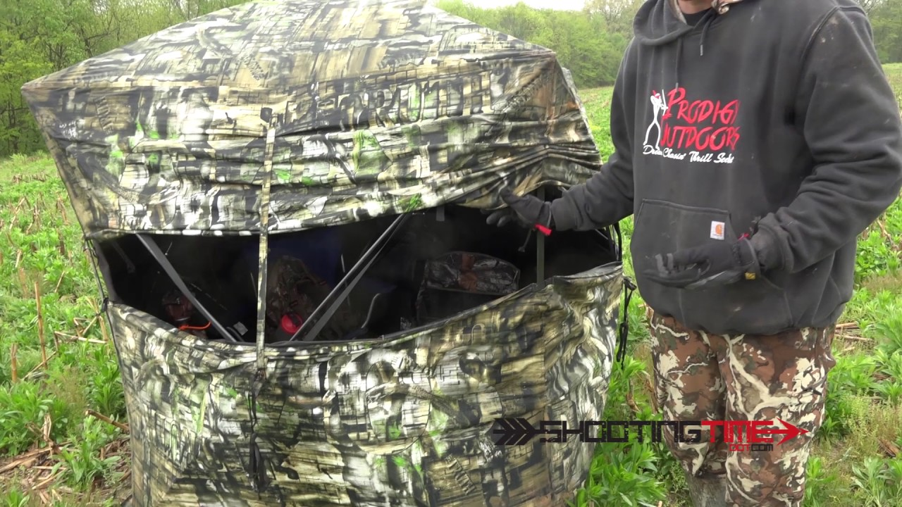 Primos Double Bull Double Wide Deluxe Ground Blind Review