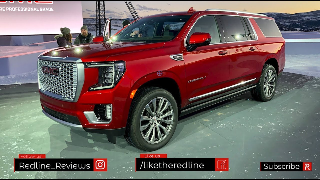 The 2021 Gmc Yukon Is A Modern Extra Large Suv With An Available