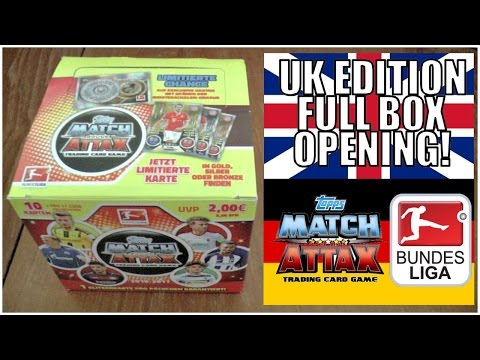 FULL BOX! 500 CARDS! | MATCH ATTAX BUNDESLIGA 2016/17 | UK PREMIERE!!!