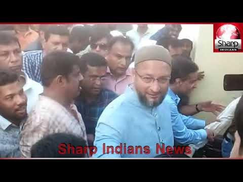 AIMIM Asaduddin Owaisi Padyatra election campaign in Hyderabad Lok Sabha Constituency || 2019