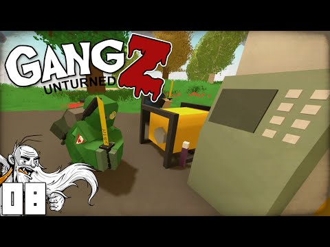 """WE'RE ROBBING THE ATM MACHINES!!!"" - Unturned GangZ PvP Multiplayer Let's Play"