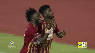 MTN FA CUP SEMI FINAL: HEARTS OF OAK 3 - 0 MEDEAMA SC - HIGHLIGHTS (R4)