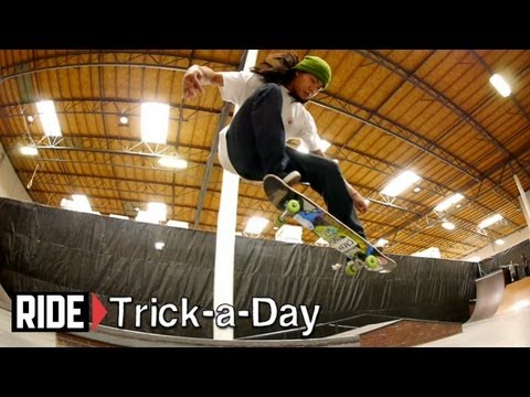 How-To Skateboarding: Ollie with Aldrin Garcia