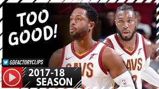 Dwyane Wade & Jae Crowder SICK PS Highlights vs Pacers (2017.10.06) - 37 Pts Total!