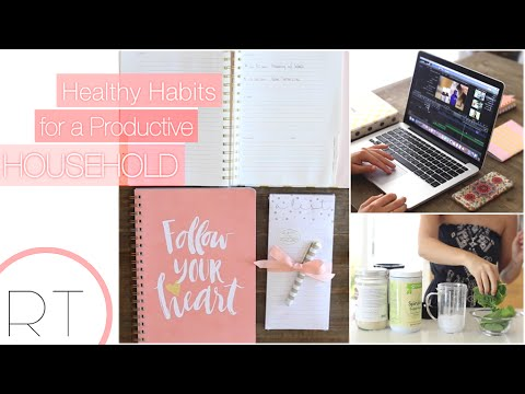 Healthy Habits For A Productive Day