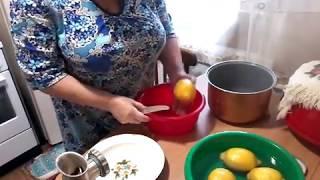 Лимонное варенье варим сами! Очень вкусное и простое в изготовлении!