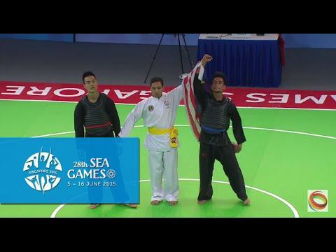 Pencak Silat Tanding Men's Class E Final VIE vs MAS (Day 9) | 28th SEA Games Singapore 2015