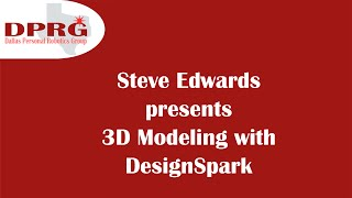 3D Modeling with DesignSpark Mechanical