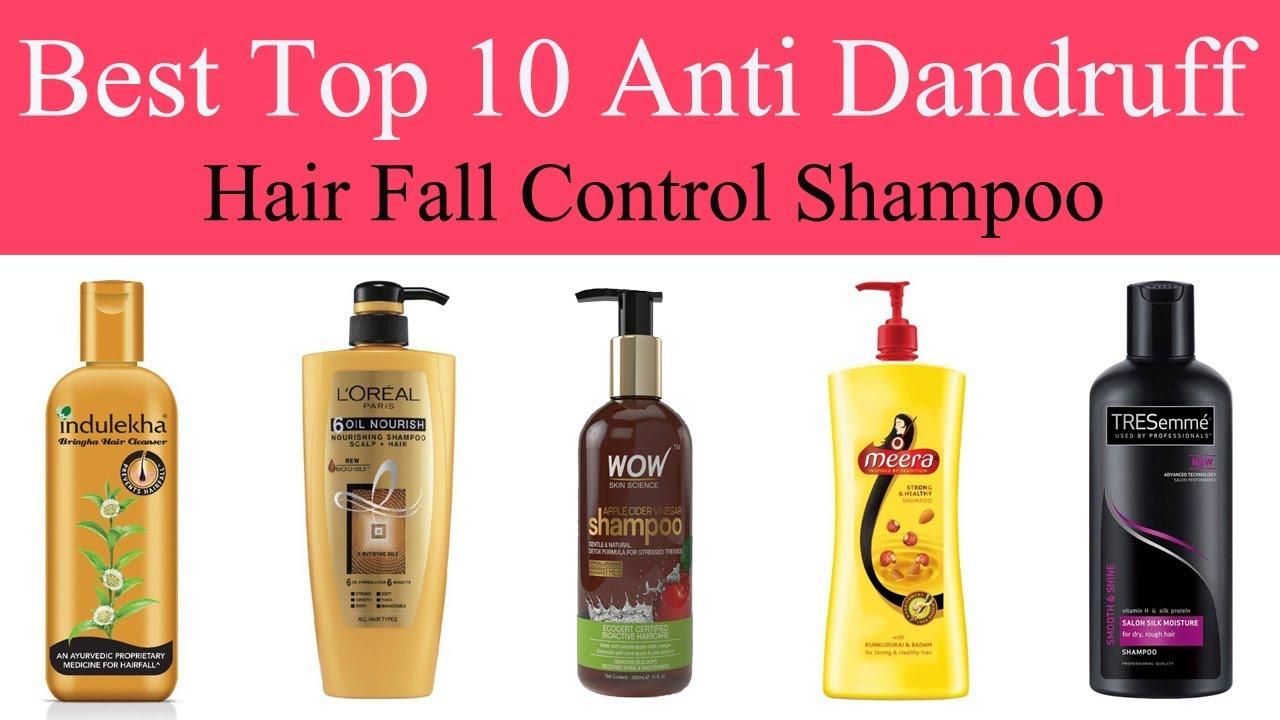 Top 10 best hair fall | Anti dandruff shampoos in india ...