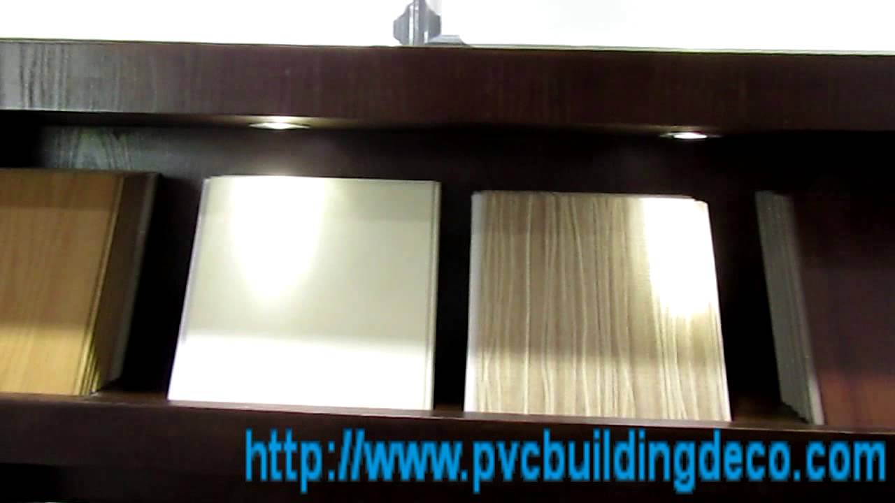 Laminated Upvc Ceiling Plate Wall Panels For Kitchen And Bathroom 1 Youtube