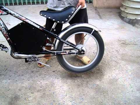 Xe đạp điện chopper tự chế