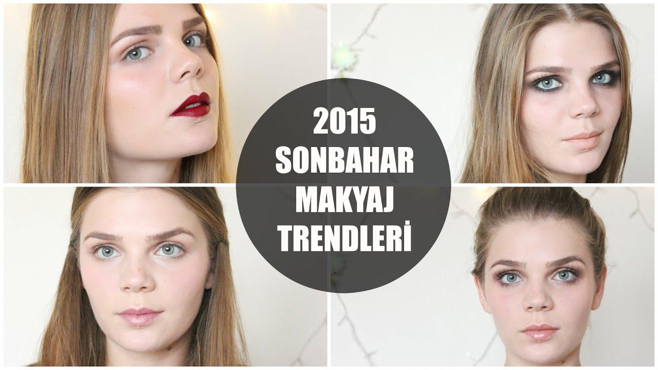 Sonbahar İçin Saç ve Makyaj Trendleri