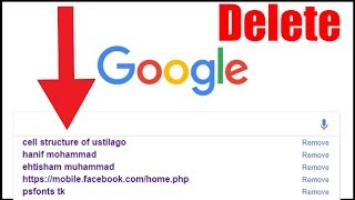 How to Delete Google Search History on Computer / PC / Laptop in Urdu_Hindi (2020)