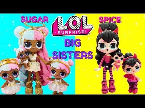 lol-surprise-sugar-&-spice-big-sisters-compilation-diy-shopkins-shoppie-custom-makeover