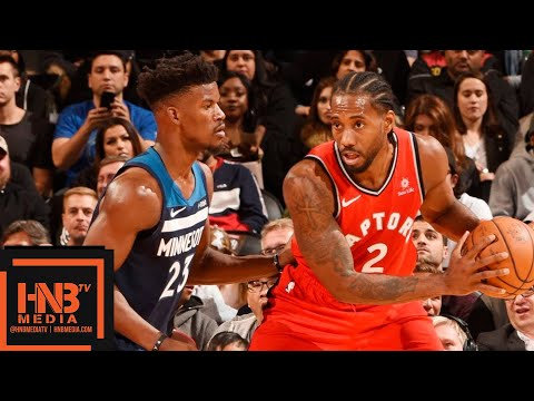 Toronto Raptors vs Minnesota Timberwolves Full Game Highlights | 10.24.2018, NBA Season