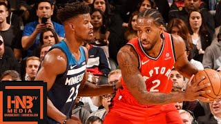 Toronto Raptors vs Minnesota Timberwolves Full Game Highlights | 10.24.2018, NBA Season