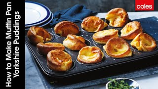 How to make muffin pan Yorkshire puddings