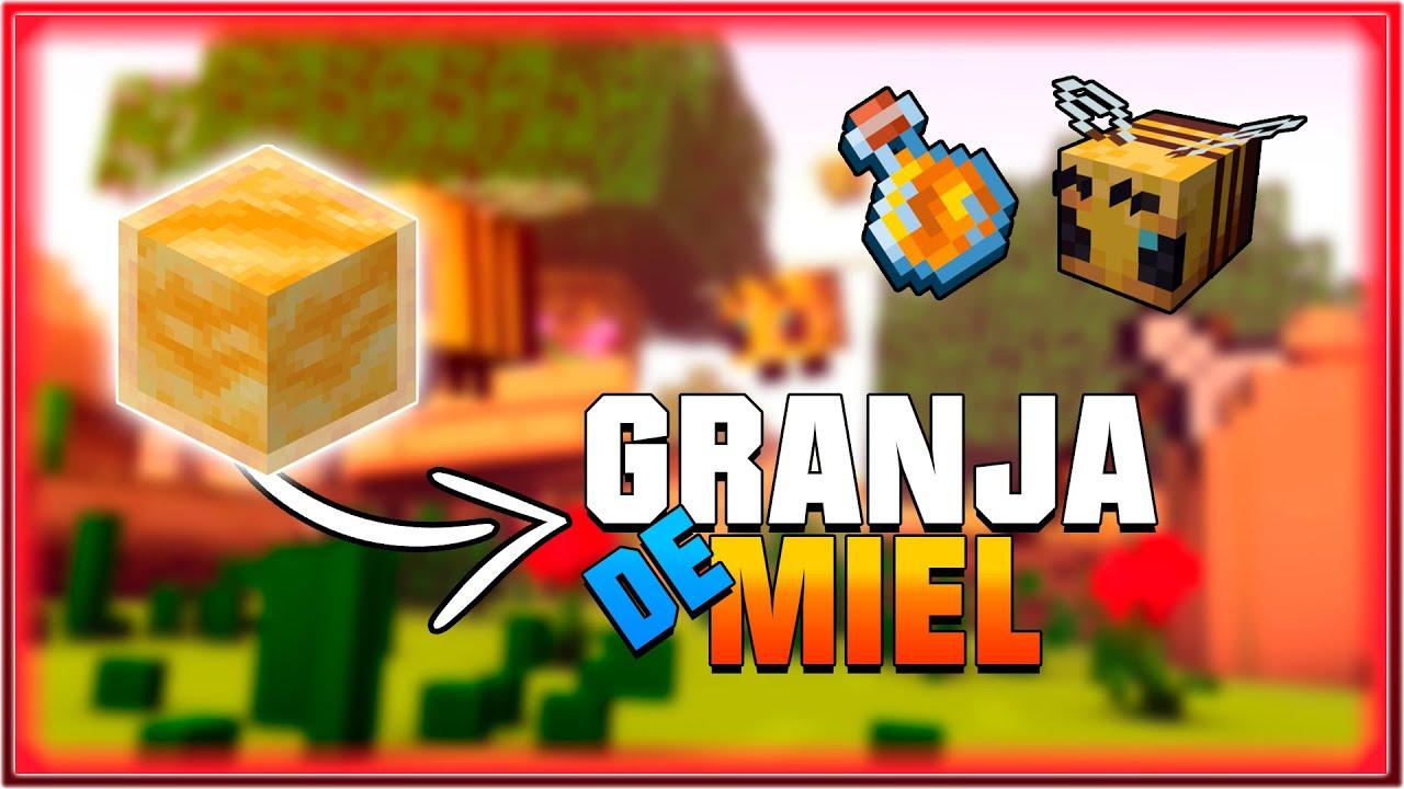 Granja de Miel - MUY FÁCIL Y EFICIENTE - Tutorial Minecraft 1.16.1 - 1.16 - 1.15