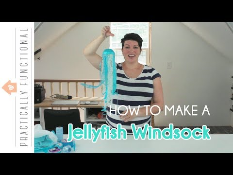 How To Make A Jellyfish Windsock – A Simple 15 Minute Outdoor Craft