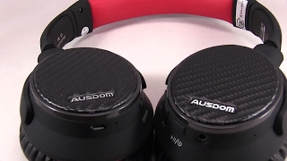 Video Very Comfortable Wireless Bluetooth Noise Cancelling Headphones with Microphone - AUSDOM ANC7 download MP3, 3GP, MP4, WEBM, AVI, FLV Juli 2018