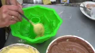 Торт Зебра или мраморный кекс. Видеорецепт(, 2013-07-05T19:08:16.000Z)