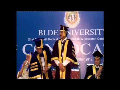 1st Convocation of BLDE University.