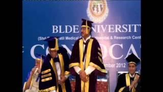 1st convocation of blde university